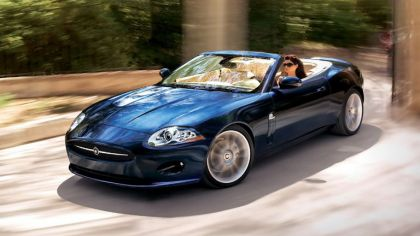 2007 Jaguar XK convertible 1