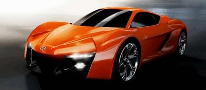 2014 Hyundai PassoCorto sports coupé concept 2
