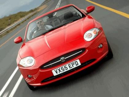 2007 Jaguar XK convertible UK version 9