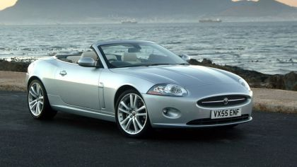 2007 Jaguar XK convertible UK version 2