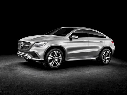 2014 Mercedes-Benz Concept Coupé SUV 13