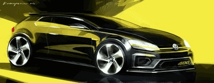 2014 Volkswagen Golf R 400 concept 11
