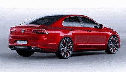2014 Volkswagen New Midsize coupé concept car 3