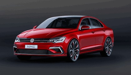 2014 Volkswagen New Midsize coupé concept car 4
