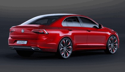 2014 Volkswagen New Midsize coupé concept car 6
