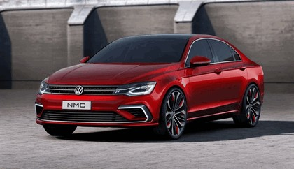 2014 Volkswagen New Midsize coupé concept car 7