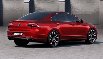 2014 Volkswagen New Midsize coupé concept car 9