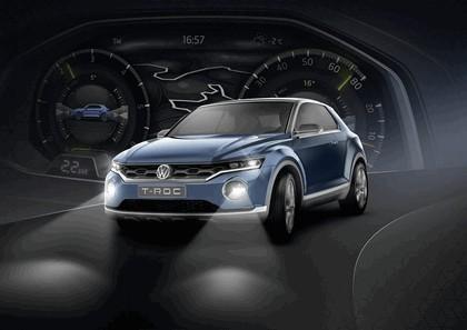 2014 Volkswagen T-ROC concept 28