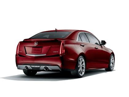 2015 Cadillac ATS Crimson Sport Edition 2