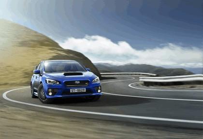 2015 Subaru WRX STI - Europe specs 4