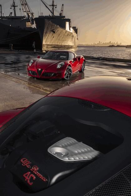 2015 Alfa Romeo 4C - USA version 48
