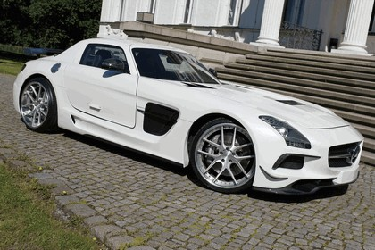 2014 Mercedes-Benz SLS 63 ( C197 ) AMG Black Series Design by SGA Aerodynamics 2