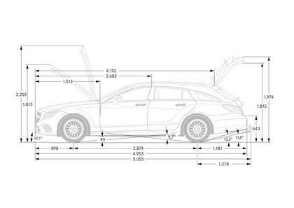 2014 Mercedes-Benz CLS 400 BlueTec Shooting Brake 11