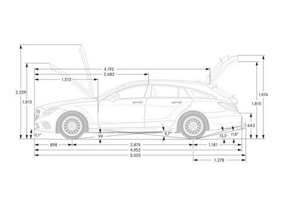 2014 Mercedes-Benz CLS 400 Shooting Brake 38
