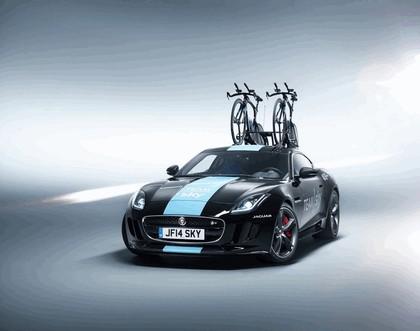 2014 Jaguar F-type coupé high performance support vehicle 1