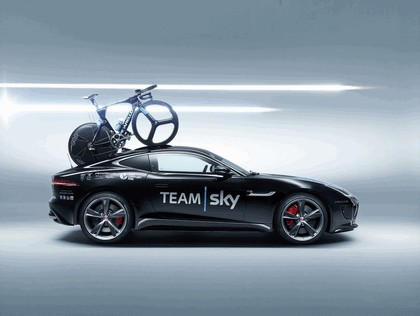2014 Jaguar F-type coupé high performance support vehicle 2