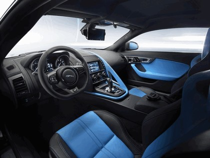 2014 Jaguar F-type coupé high performance support vehicle 5