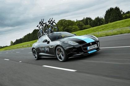 2014 Jaguar F-type coupé high performance support vehicle 9