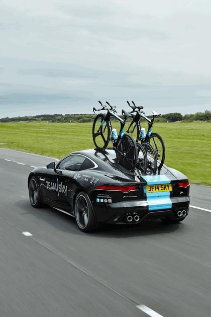 2014 Jaguar F-type coupé high performance support vehicle 12
