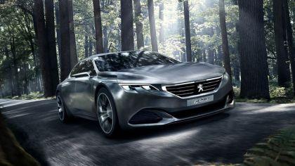 2014 Peugeot Exalt concept - shark skin 8
