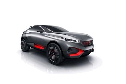2014 Peugeot Quartz concept 1