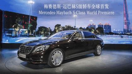 2014 Mercedes-Maybach S-klasse ( W222 ) 36