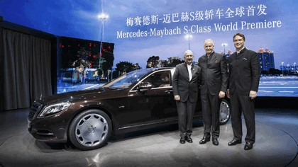 2014 Mercedes-Maybach S-klasse ( W222 ) 37