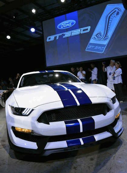 2015 Ford Mustang Shelby GT350 39