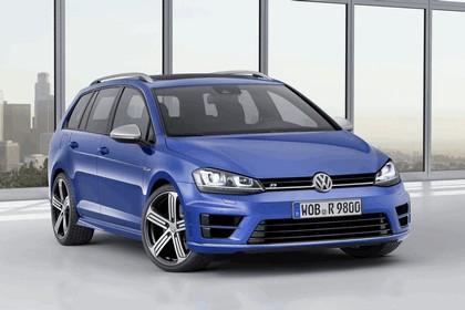 2014 Volkswagen Golf ( VII ) R Estate 1