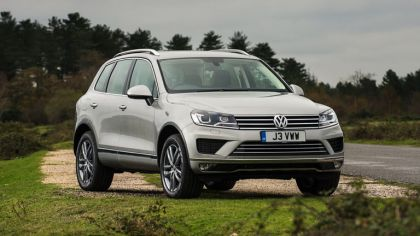 2014 Volkswagen Touareg SE - UK version 2