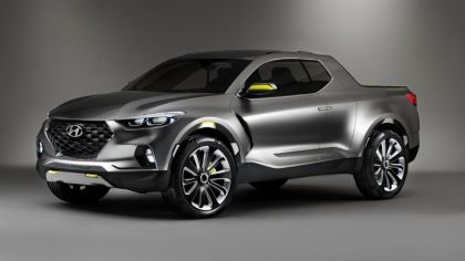 2015 Hyundai Santa Cruz Crossover truck concept 8