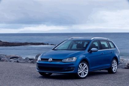 2015 Volkswagen Golf SportWagen - USA version 1