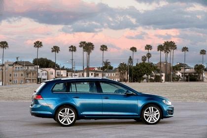 2015 Volkswagen Golf SportWagen - USA version 4