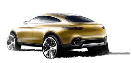 2015 Mercedes-Benz Concept GLC Coupé 16