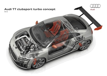 2015 Audi TT clubsport turbo concept 42