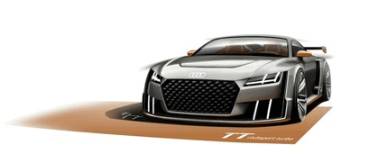 2015 Audi TT clubsport turbo concept 43