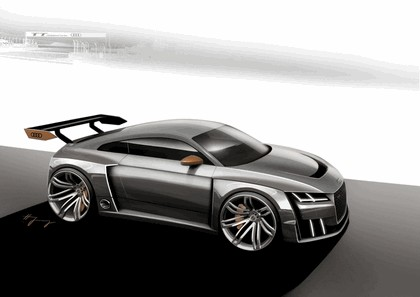 2015 Audi TT clubsport turbo concept 45
