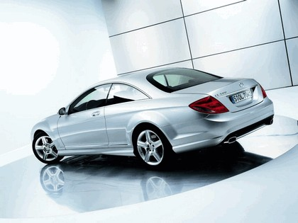 2007 Mercedes-Benz CL500 with AMG Sports Package 2