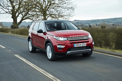 2015 Land Rover Discovery Sport - UK version 8