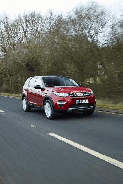 2015 Land Rover Discovery Sport - UK version 11