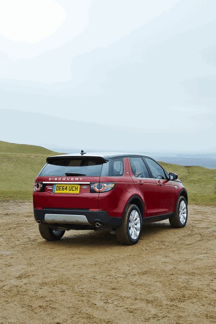 2015 Land Rover Discovery Sport - UK version 40