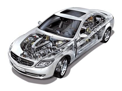 2007 Mercedes-Benz CL600 79