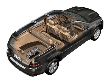 2007 Mercedes-Benz GL400 CDI 6
