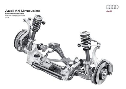 2015 Audi A4 2.0 TFSI quattro 100