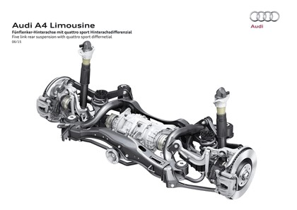 2015 Audi A4 2.0 TFSI quattro 102