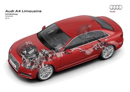 2015 Audi A4 2.0 TFSI quattro 105