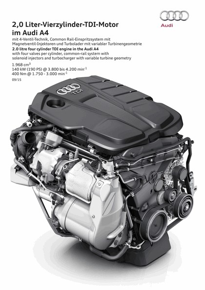 2015 Audi A4 2.0 TFSI quattro 128