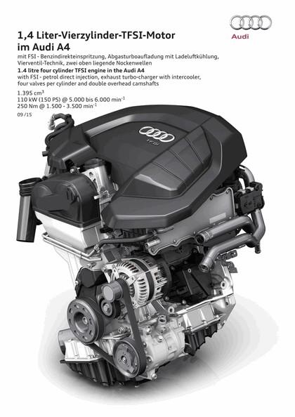 2015 Audi A4 2.0 TFSI quattro 131