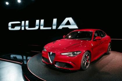 2015 Alfa Romeo Giulia Quadrifoglio 8