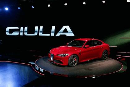2015 Alfa Romeo Giulia Quadrifoglio 10